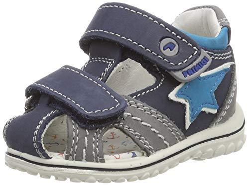 PRIMIGI Baby Jungen PSW 33781 Sandalen, Blau (Azzurro-GRIG.Sc 3378122), 25 EU
