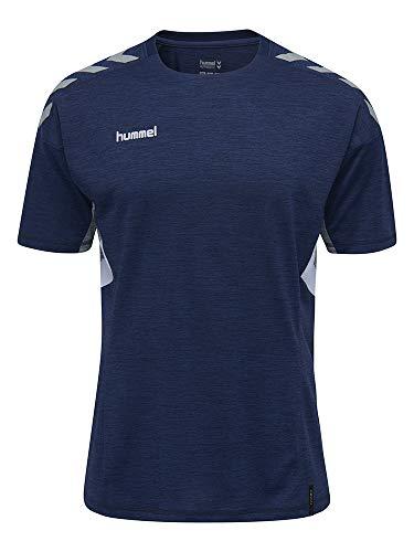 hummel Maillot Tech Move Jersey S/S pour Homme XXL Bleu Marine chiné