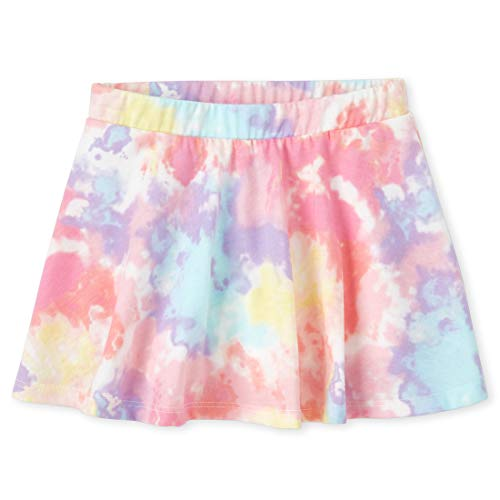 The Children's Place Baby Girls' Matchable Skorts, Whisperpnk, 4T