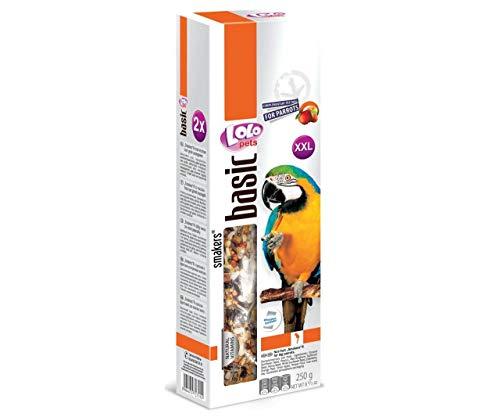 Lolo Smakers Xxl 2 Ohren Von Nuss-Frucht Für Große Papageien, Reisig, Futter, Vögel
