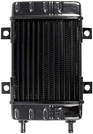 Jagg Oil Coolers Oil Cooler 6 row; 2.5 W x 8.25 L x 1.5 thick; 90 degree inlet//outlet w// 3 7//8 on-center 3090
