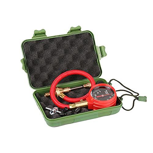 ZHFEN Desviador de neumáticos Rapid Ajuste de presión Digital Ajustable automático (Color : Gold)