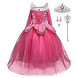 LiUiMiY Déguisement Princesse Fille Costume Enfant Bébé Halloween Carnaval Noël...