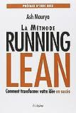 La méthode Running Lean - Transformer votre idée en succès