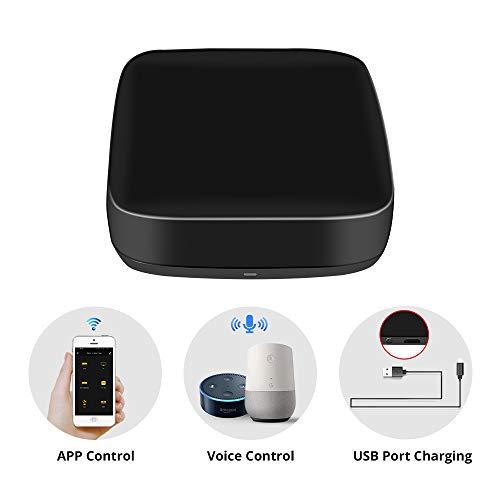 BENEXMART Smart Universal Home Fernbedienung IR WiFi Automatische intelligente Fernbedienung für TV, STB, Klimaanlage, Kompatibel mit Tuya App App Alexa, Google Home