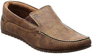 brandvilla Men's Brown Loafers-7 UK/India (40.5 EU) (bv-609)