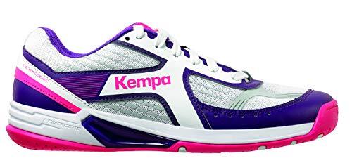 Kempa Damen Wing Women Sneakers, Weiß (01), 41 EU