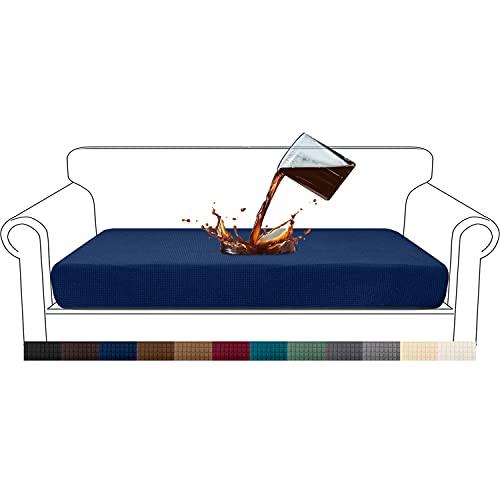 Granbest Premium - Funda de cojín para sofá(Azul Marino,3 Plaza)