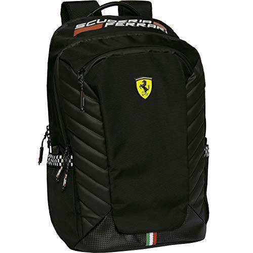Ferrari Zaino Big Scuderia - Nero, Jungen Rucksack, Taglia unica