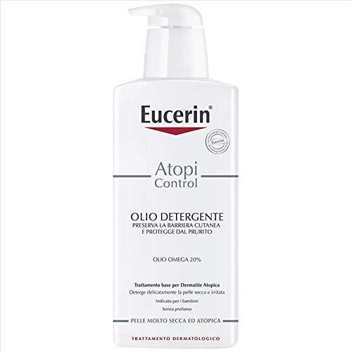 Eucerin Atopi Control - Olio Detergente 20% Omega, 400ml