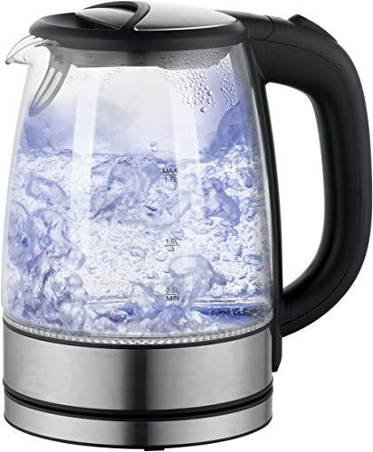 Glas - Wasserkocher mit LED Beleuchtung