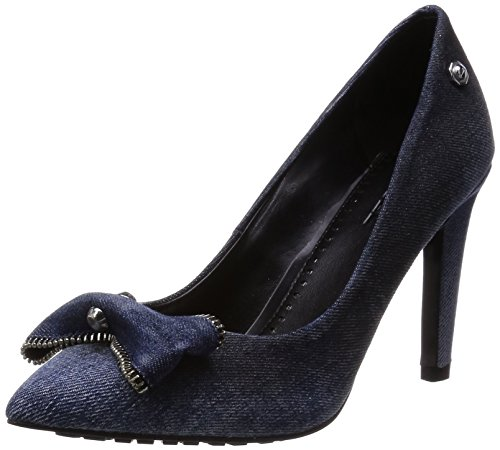 Diesel Damen Jeans Pumps Stilettos Day-Night D-Evita (EUR 41, Indigo)