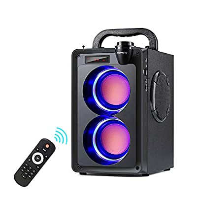 Bluetooth Speakers 20W Portable Bluetooth Speaker with Subwoofer