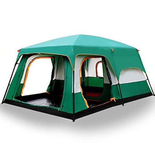 Il cammello all'aperto Nuovo grande spazio di campeggio outing due camera da letto tenda ultra-large hight qualità impermeabile tenda da campeggio