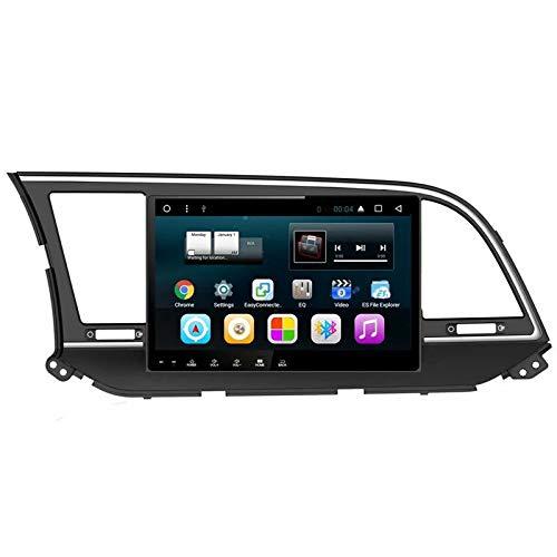 TOPNAVI 10,1 Pouces 2 Go Quad Core Android 8.1 Centre Média pour Hyundai Elantra 2016 2017 2018 Voiture GPS NavI Stéréo Radio avec WiFi 32 Go ROM 3G RDS Lien Miroir FM AM BT