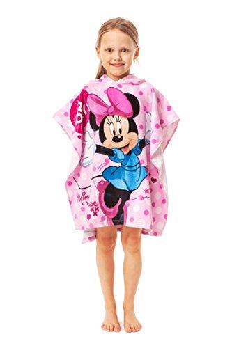 Jerry Fabrics s.r.o. 226065 poncho handdoek voor kinderen; 100% kwaliteits-katoen; leeftijd 3-7 jaar; Disney, meerkleurig