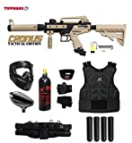 Maddog Tippmann Cronus Tactical Starter Protective CO2 Paintball Gun Package -...