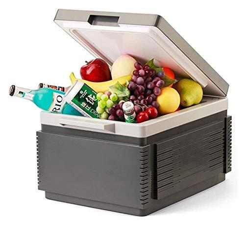 SHUHANG Toque Botón Coche Refrigerador 12V DC 220V CA Capa Inicio 12L Caliente Caliente Y FRÍO Portable Porte (Size : 455x340x265mm)