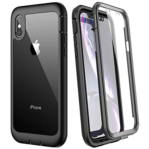 WE LOVE CASE for iphone X/XS Case, Built-in Screen Protector Real 360...