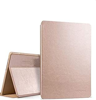 سامسونج جالاكسي تاب اس 3 9.7 انش SM-T820/T825 كفر حماية جلدي - ذهبي