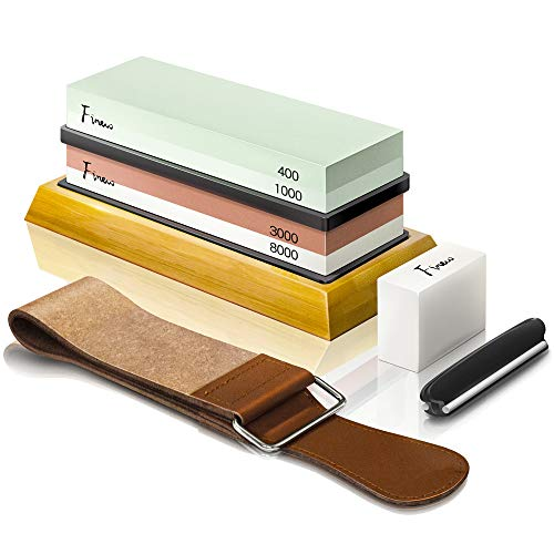 Best Pick: Finew Knife Sharpening Stone Kit