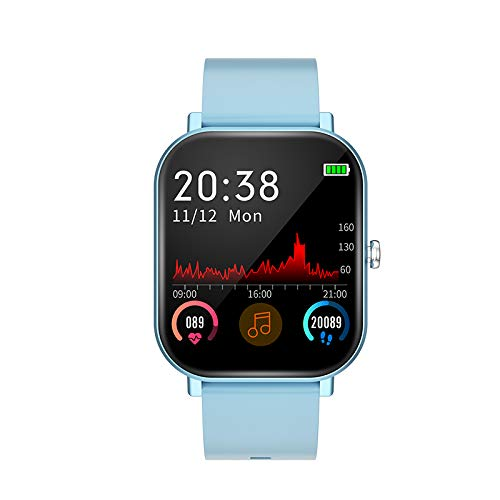 QNQN Smart Sport Bracelet Bluetooth Smart Watch Big Full Touch Fitness Tracker Heart Rate Blood Pressure Monitor Activity Tracker Exercise Step Counter is Best Gift for Men or Women