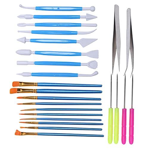 Juego de pinceles de pintura, herramientas de dibujo duraderas profesionales, kits de pinceles acrílicos para pintura al óleo para pintura acrílica