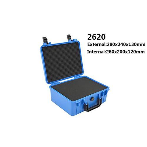 Gereedschapskist LKU Plastic verzegelde gereedschapskist veiligheidsuitrusting camera gereedschapskoffer koffer anti-shock gereedschapskist, 280x240x130mm