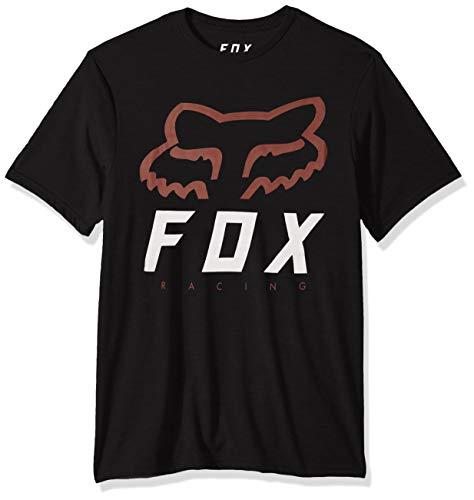 Fox Herren Heritage Forger Short Sleeve Trudri Tech Premium T-Shirt, schwarz, Klein
