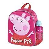 CERDÁ LIFE'S LITTLE MOMENTS Botella de Agua Infantil Peppa Pig-Licencia Oficial Niceklodeon para Niñas, Rosa, Mochila Recomendada 3-6 años, en Edad de Preescolar