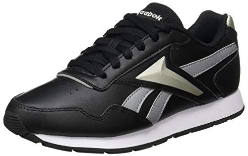 Reebok Royal Glide, Zapatillas de Running Mujer, NEGBÁS/FLIGRY/PUGRY5, 35.5 EU