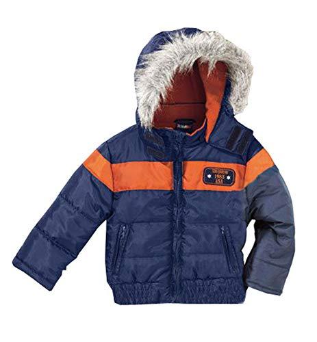 lupilu Jungen Jacke Winterjacke Kuschelig wärme Jacke Ideal für Herbst und Winter mit Abnehmbarer Kapuze