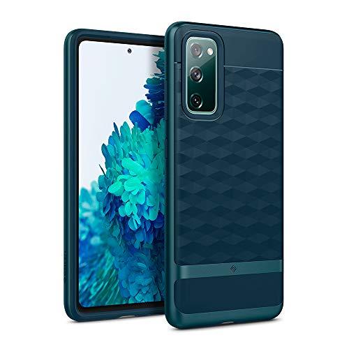 Caseology Parallax Hülle Kompatibel mit Samsung Galaxy S20 FE - Aqua Green