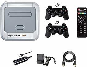 Super Console X Pro Retro Game Console DVD Game 50+...