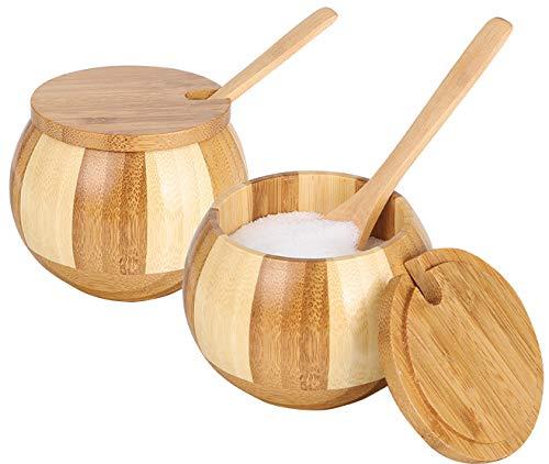 salt bowl with spoon - 7