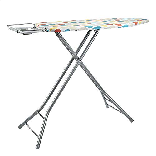 Amazon Basics Ironing Board Large Deluxe, with Retractable Iron Rest,...