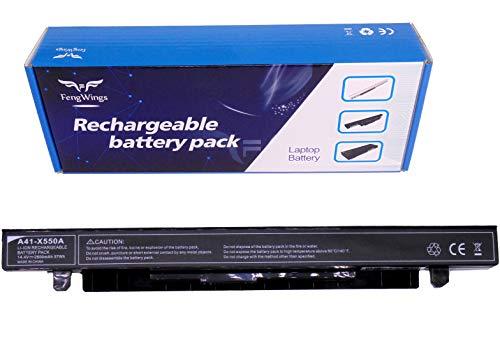 FengWings® A41-X550A 14.4V 2600mAh batería del portátil Compatible con ASUS X450CA X450EA X550CA X550CC X550LA X550LB X550LD X550JD X550JK X550LN X550VC X550EP X550WE X552CL FX50JK F550C R510CA