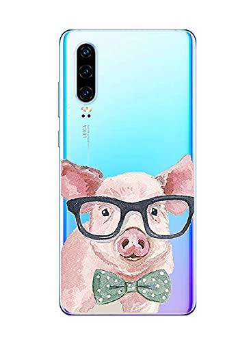 Suhctup Motivo Linda Funda Transparente Compatible con Xiaomi Redmi Note 5A,Ultrafina Suave Silicona TPU Antigolpes Caso con Patrón Diseño Transparente Anti-caída Escudo Protector