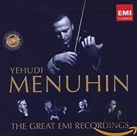 Yehudi Menuhin The Great EMI Recordings