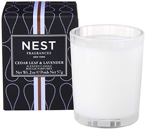 NEST Fragrances Votive Candle- Cedar Leaf & Lavendar , 2 oz