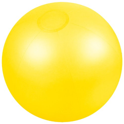 Presents & more - Pelota de playa amarillo