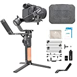 FeiyuTech AK2000S 3-Axis Handheld Gimbal Stabilizer (Standard Kit) for Sony a9 a7 ii a6500 Series Canon 5D Panasonic GH5 GH4 Nikon D850 Mirrorless and DSLR Digital Camera, Smart Touch Panel