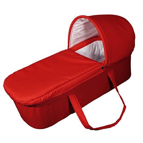 Eichhorn kinderwagen stevige draagtas, luxe variant rood