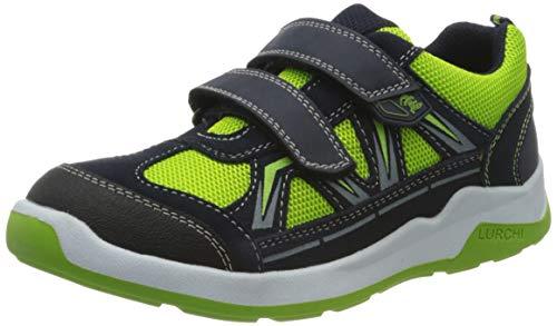 Lurchi Jungen Marcos Sneaker, Grün (Grass Navy 26), 28 EU