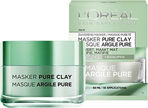 Loreal Skin Expert Masker Pure Clay, 50 ml