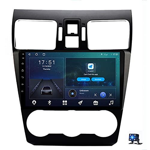 Android 10.0 Car Stereo Sat Nav Radio Reproductor de Video Multimedia con Pantalla táctil para Subaru WRX 2016-2020 Soporte Bluetooth USB WiFi 4G GPS Mirror Link(Size:Ocho núcleos,Color:WiFi 1G+16G)