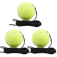 shama インテンシブテニスボールトレーナーテニスプライスシングル自習トレーニングツール - 3つのボール, 説明したように