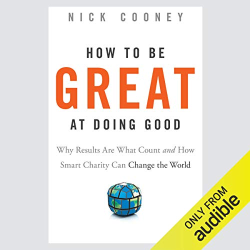 How to Be Great at Doing Good cover art