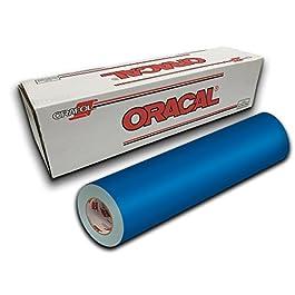 Oracal 651-12″ x 10yd – Azure Blue 052