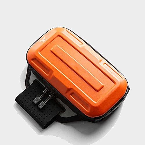 Riñonera con Riñonera Running Deportiva para Hombre Y Mujer Multifuncional Al Aire Libre Riñonera Deporte Equipo De Maratón De Fitness (Color : Arm Pack Orange)
